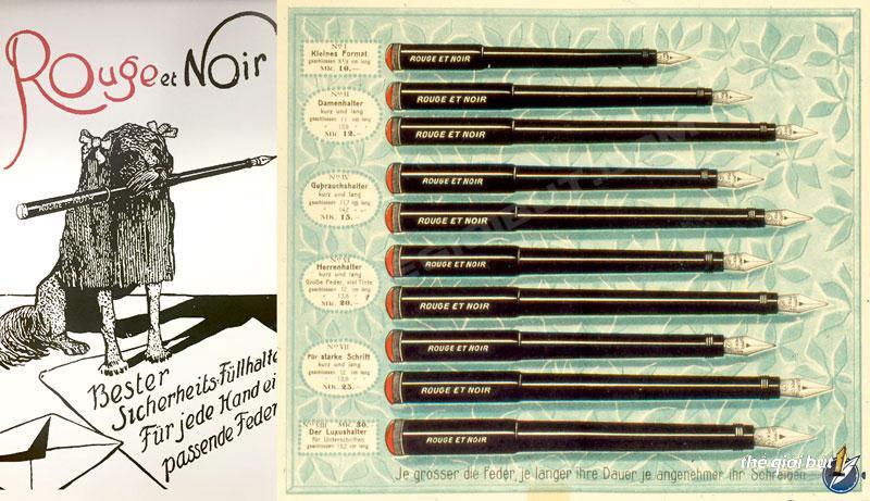 Lịch sử thương hiệu bút Montblanc