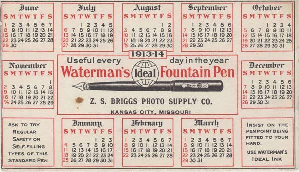 Lịch sử thương hiệu bút Waterman