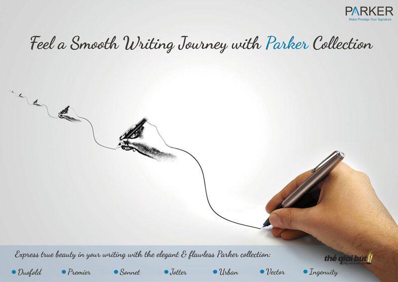 Lịch sử thương hiệu bút Parker