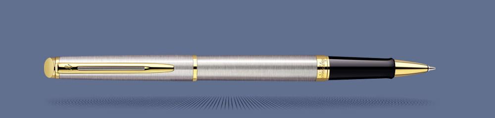 Bút dạ bi Waterman Hemisphere Essential Stainless Steel GT Rollerball S0920350
