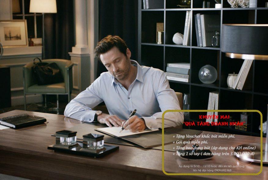 Khuyến mại bút ký doanh nhân