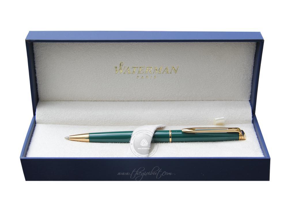 Mẫu bút Waterman Hemisphere màu xanh lá hợp với người mạng Mộc