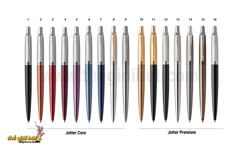Bút bi Parker Jotter Stainless Steel GT Ballpoint Pen