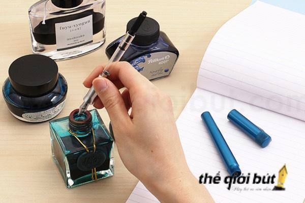Cách sử dụng bút máy mới mua tuyệt vời