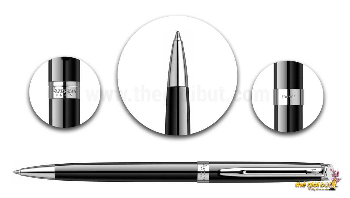 Bút bi Waterman Hemisphere Essential Black CT Ballpoint Pen
