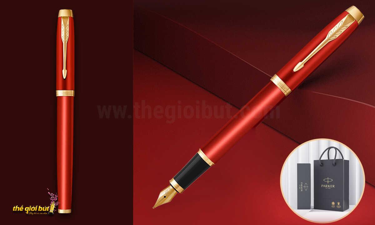 Bút máy Parker IM Special Edition Vigor Red Fountain Pen