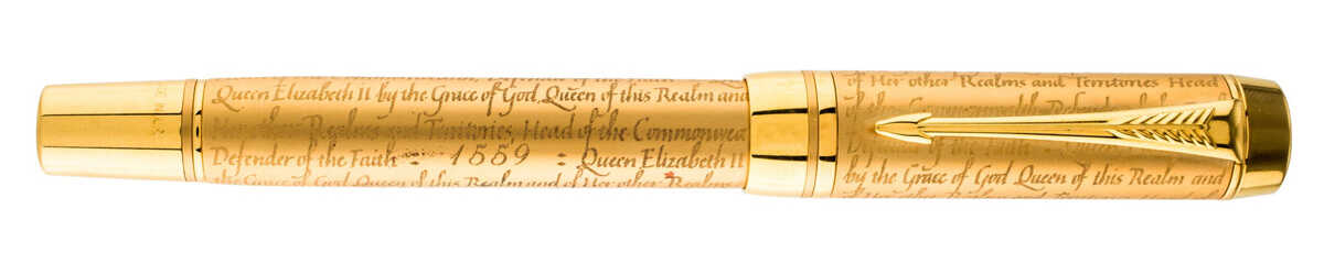 Bút máy Parker Duofold Queen Elizabeth Accession Limited Edition Fountain Pen