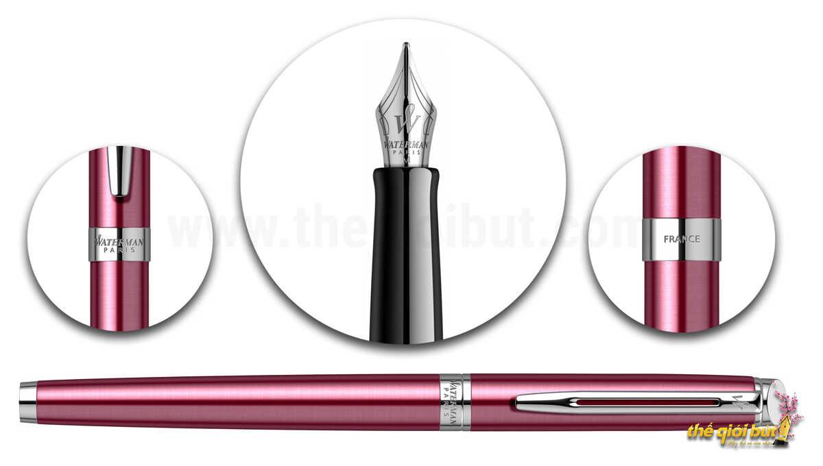 Bút máy Waterman Hemisphere Coral Pink Fountain Pen 2043204