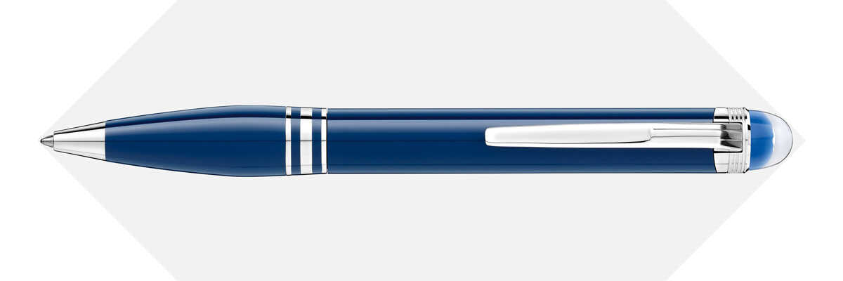 Bút bi Montblanc Starwalker Blue Planet Precious Resin Ballpoint Pen MB125292