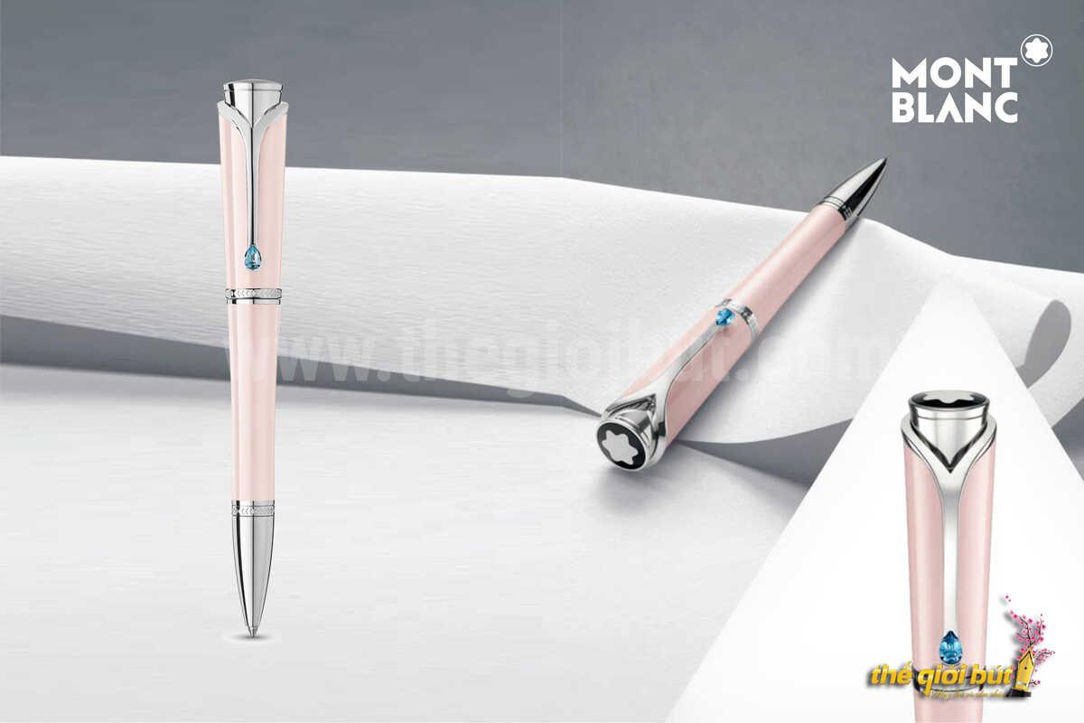 Bút bi Montblanc Muses Poudre Special Edition Ballpoint Pen 115273