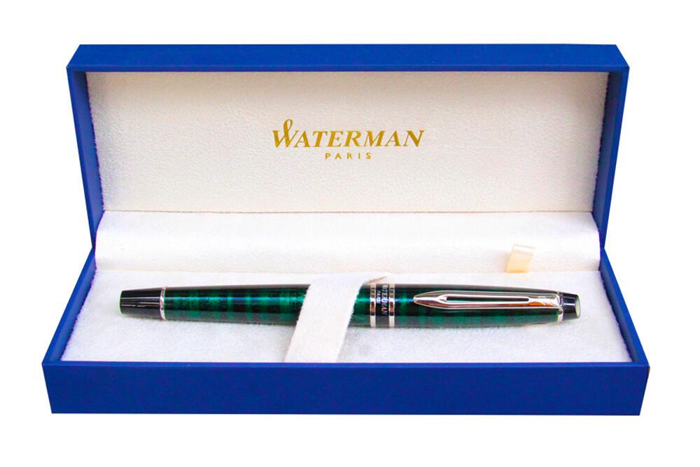 Bút dạ bi Waterman Expert Dune Green Rollerball S0701480